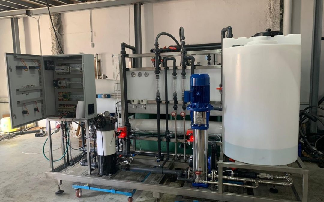 Tratamiento industrial del agua